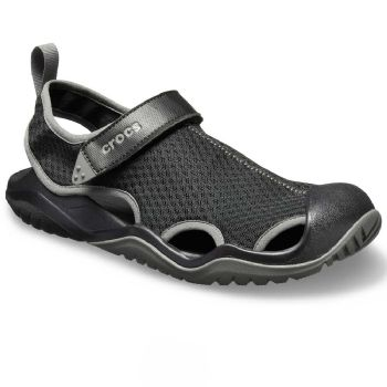 Crocs Mens Swiftwater Mesh Deck Sandal